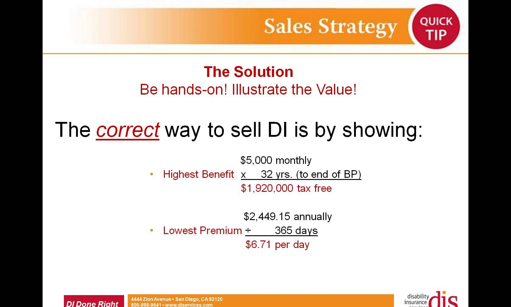 How To Present Di Right Proven Hi Low Method Insurance Sales
