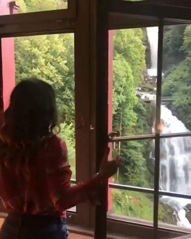 Grand hotel Giessbach Switzerland