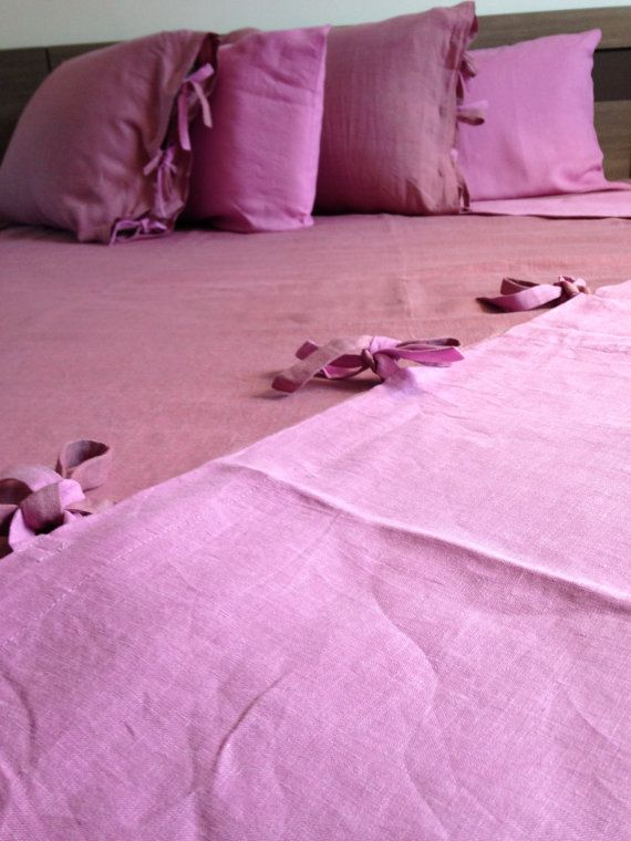 Natural Linen Bedding