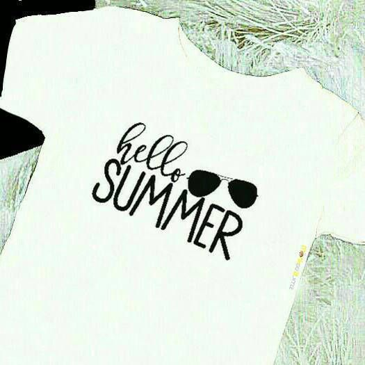 Hello Summer ...Cool Shirt...Hipster Kids Shirts.