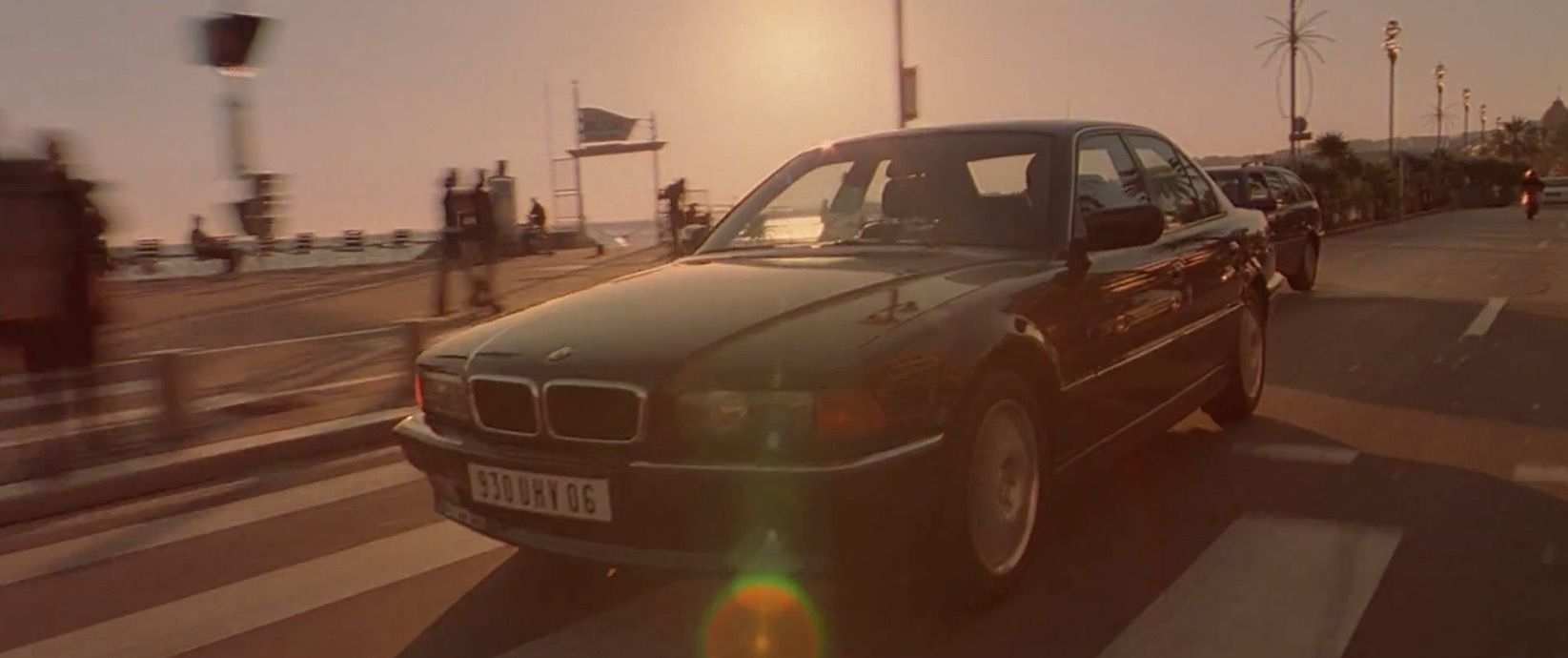 BMW 735i [E38] (1995) car driven by Jason Statham in THE ...