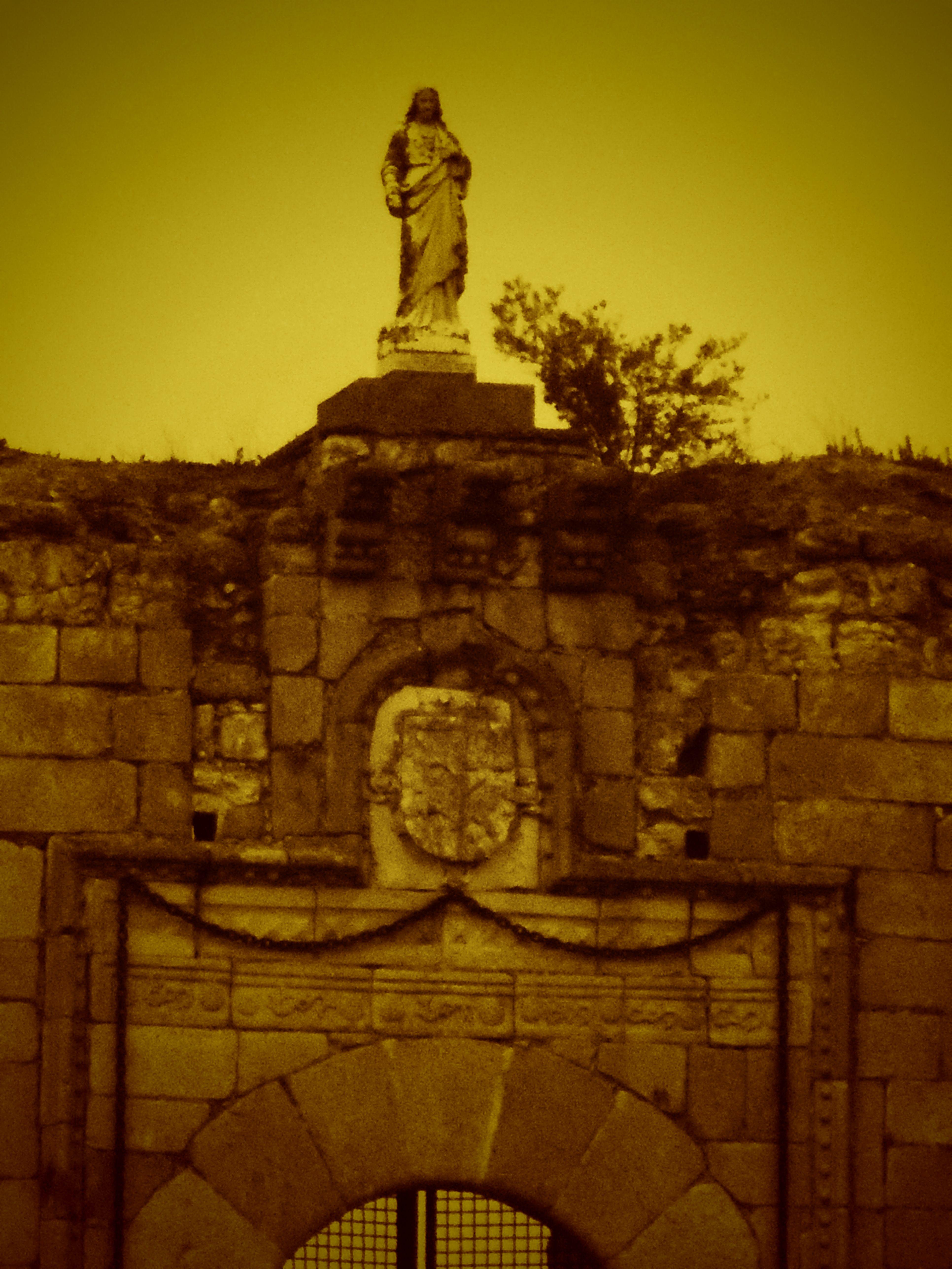 Castillo de San Silvestre.
