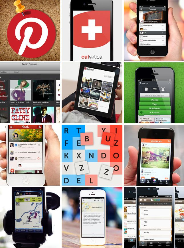 2012 Faves 12 Apps 12 Products 12 Diy Projects App Favorite Apps Iphone Obsession