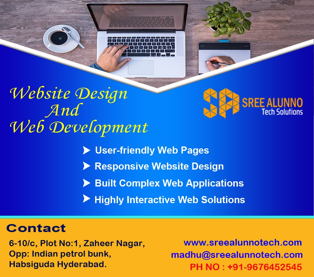 Sree Alunno Tech Solutions offers high quality Website