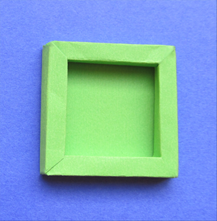 how to make a shadow box a 3d frame from paper or cardboard - Shadow Box Frames