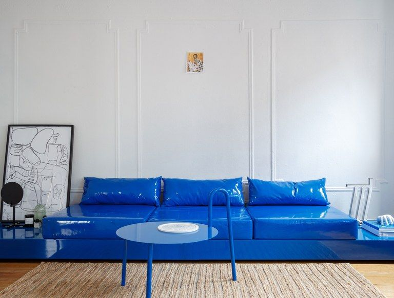In Harry Nurievu0027s Brooklyn Apartment, Minimalism Gets A Colorful Spin