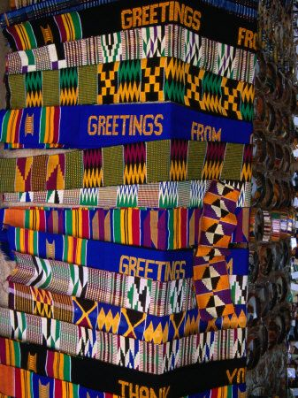 Market stall at arts centre accra greater accra ghana accra i 3 kente strips from ghana m4hsunfo