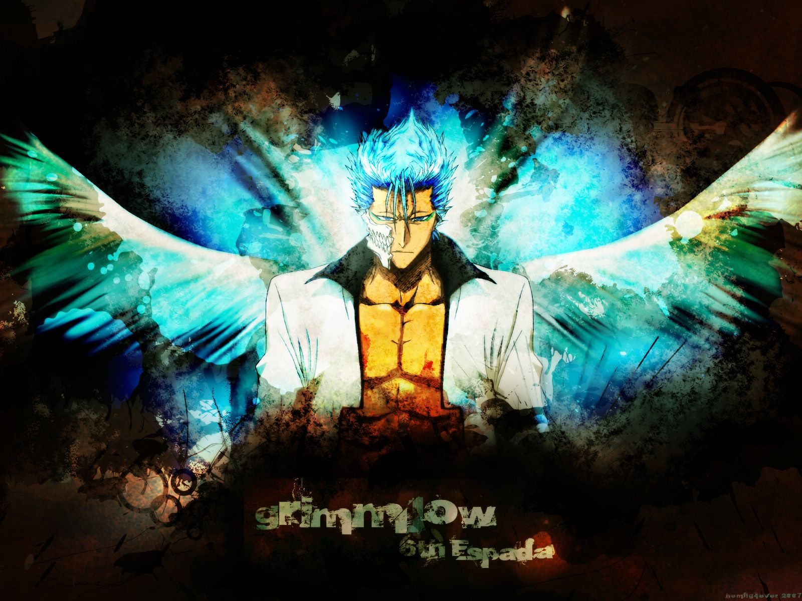Grimmjow: Bleach 6th Espada | Bleach anime, Anime images, Anime