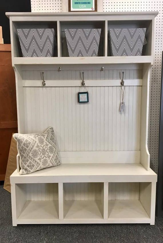 Pin By Tina Stevenson On Hall Tree In 2020 Mud Room Storage Entryway Modern Farmhouse Furniture