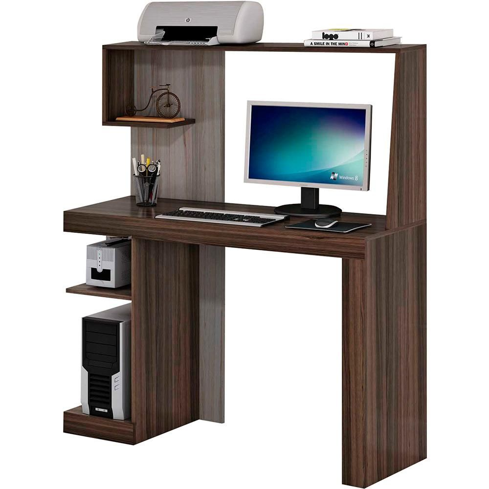 Mesa para computador la s carvalho e avel perm bili for Muebles de escritorio modernos para casa