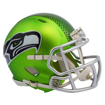 riddell seattle seahawks blaze revolution speed mini football helmet seahawks seattle nfl