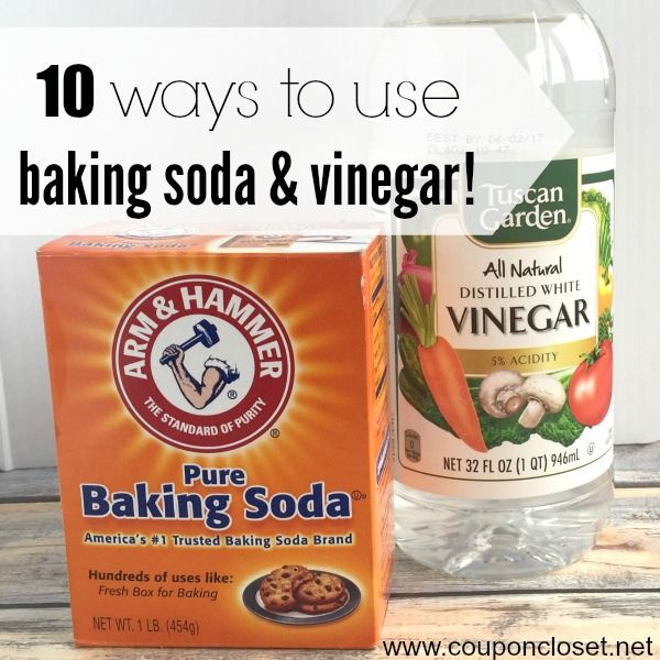 Uses For Baking Soda And Vinegar 10 Clever Baking Soda And