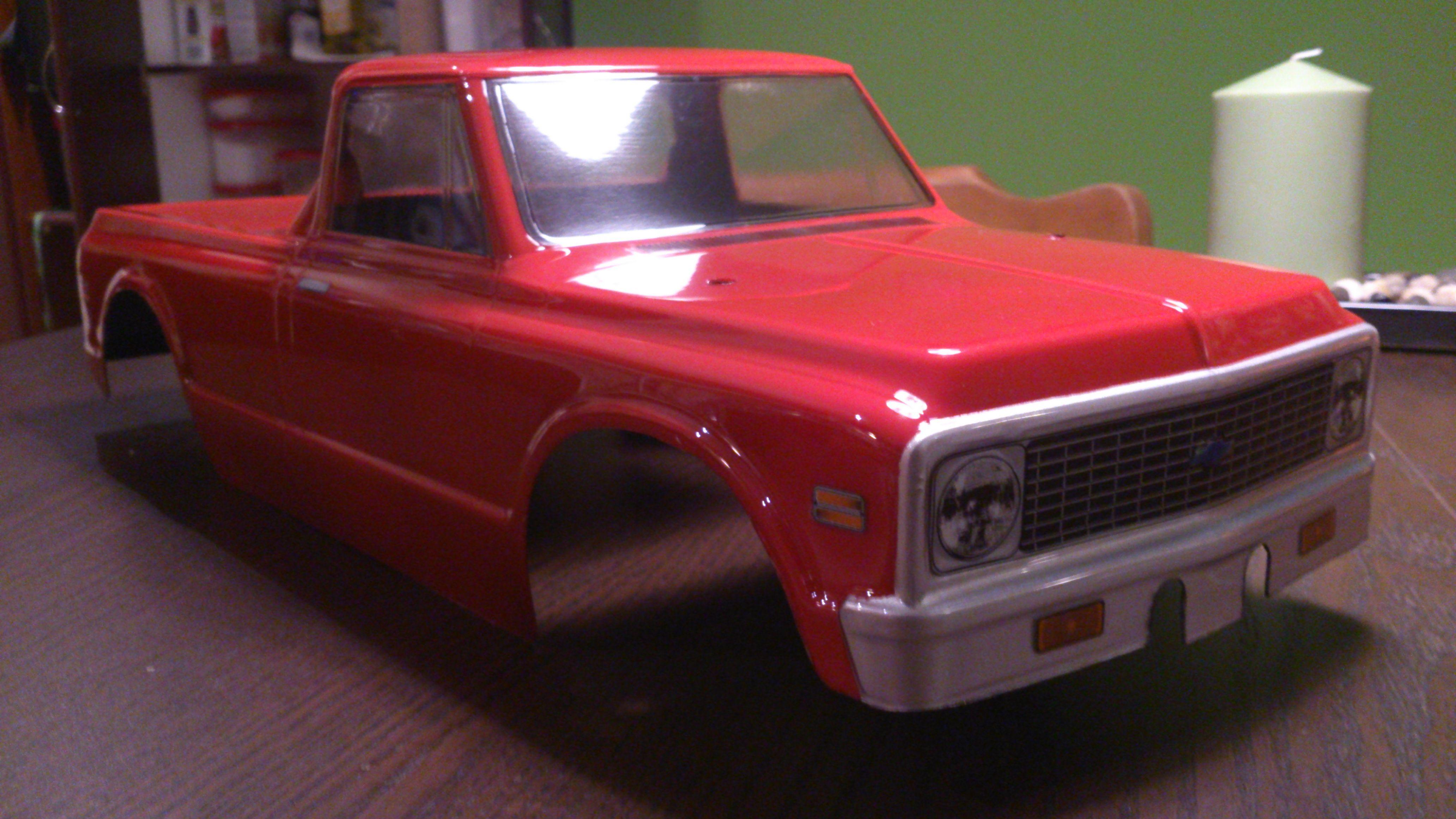 My Proline Rc body chevy c10 72 Chevy c10, Chevy, Toy car