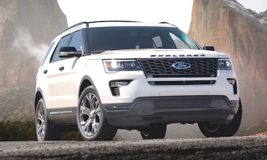 2019 Ford Explorer Hybrid Ford Explorer Ford Explorer Sport Cheap Sports Cars