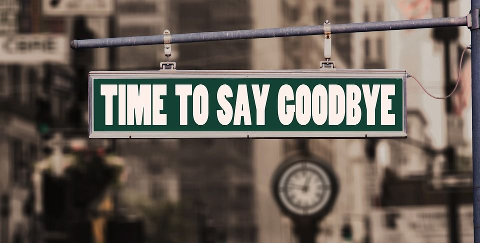 Image result for long goodbye and letting go