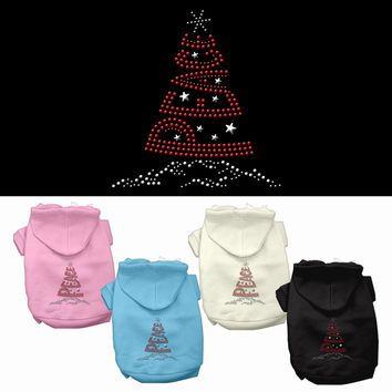 Mirage - Peace Tree Christmas Dog Hoodies