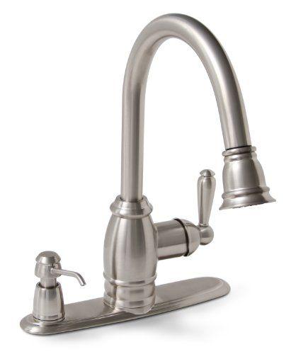 Premier 120111LF Sonoma Kitchen Faucet with Pull-Down Spo ...