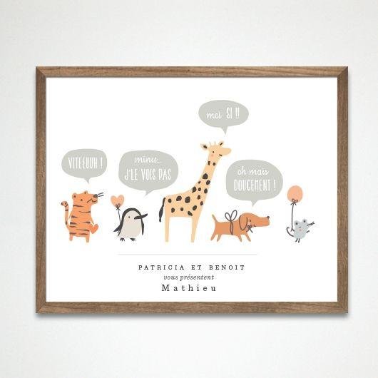 Affiche Queue Leu Leu <3 • www.dioton.fr | Déco | Pinterest ...