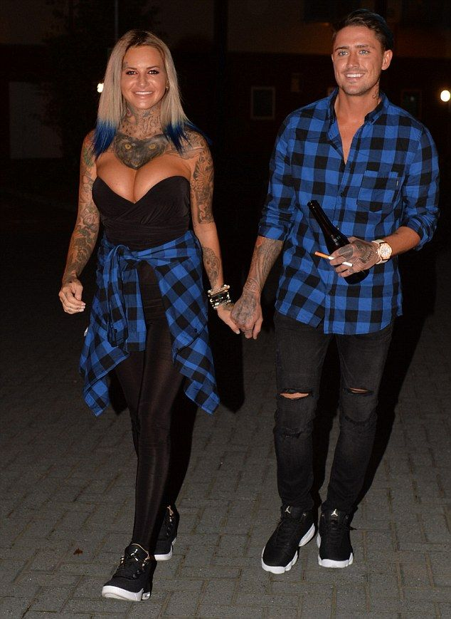 Busty Jemma Lucy And Stephen Bear Head Out In Matching Outfits