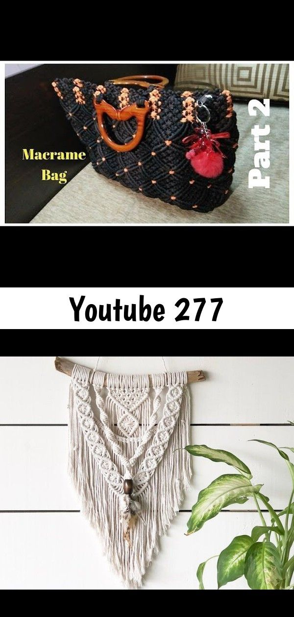 Youtube 277 YouTube Small Macrame Wall Hanging Feathers Macrame Feathers  Etsy cheap boho decor macrame ideas for outdoor long table hallstromhome This beauty is done and...