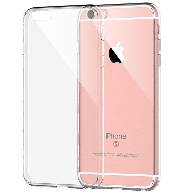 70babedd09a New Apple Iphone 6s 6 TPU Jelly Skin Case Cover Crystal Clear New Condition  A
