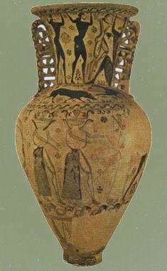 Éleusis - amphore attique, dite « amphore d'Éleusis ...