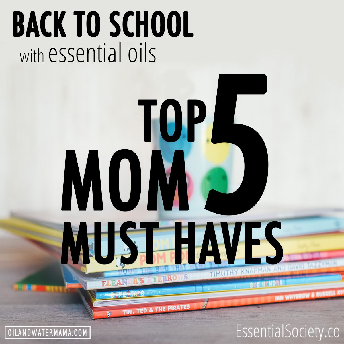 Back To School Season is here! We've got the Must Have List of what the moms on our Team use to survive the school year. Head to the blog at Essentialsociety.co