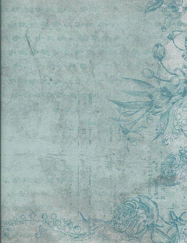 Glendas Teal Imprinted Glenda S World Post Pic Jpg 600 778 Pixels Vintage Paper Background Vintage Paper Printable Vintage Paper