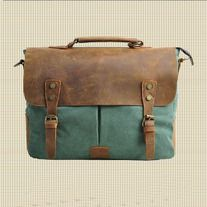 Handmade Leather Canvas Bags on Storenvy