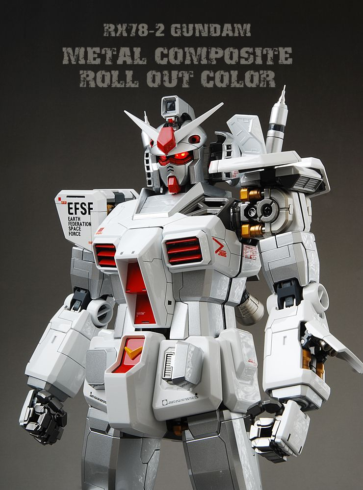 PG 1/60 RX-78-2 Gundam Ver. Metal Composite Roll Out Color