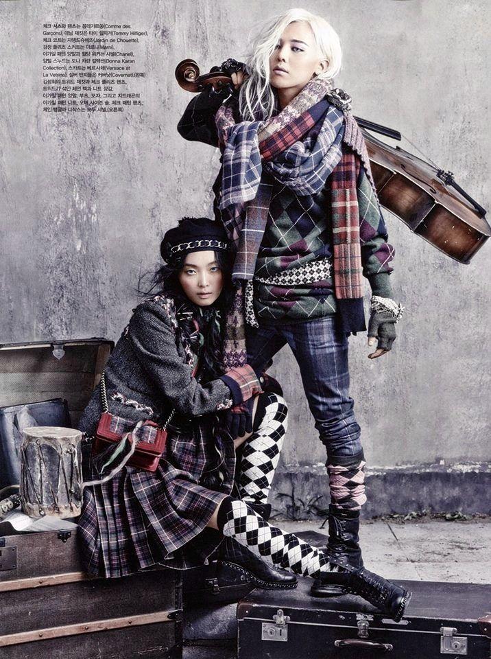Grungy Hobo Chic Fashion Vogue Korea Fashion Hobo Chic Style