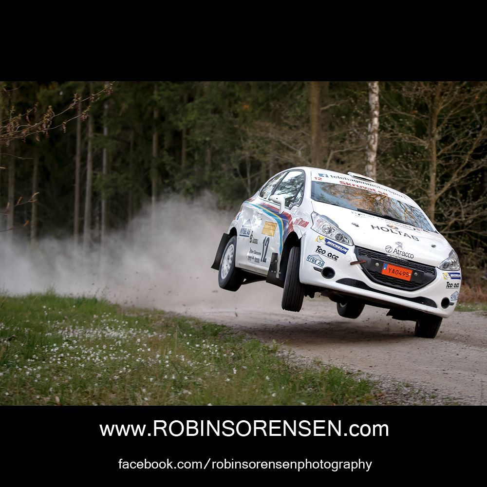 South Swedish Rally 2016. Erik Telehagen / Björn Jonasson Peugeot 208 R2.  #rallying #rallysm #southswedishrally #ssr #karlskrona #sweden #rally #robinsorensen #photography #photographer #fotografrobinsorensen #motorsports  Photo: Robin Sorensen / http://bit.ly/1XGEXkx by robinsorensenphoto