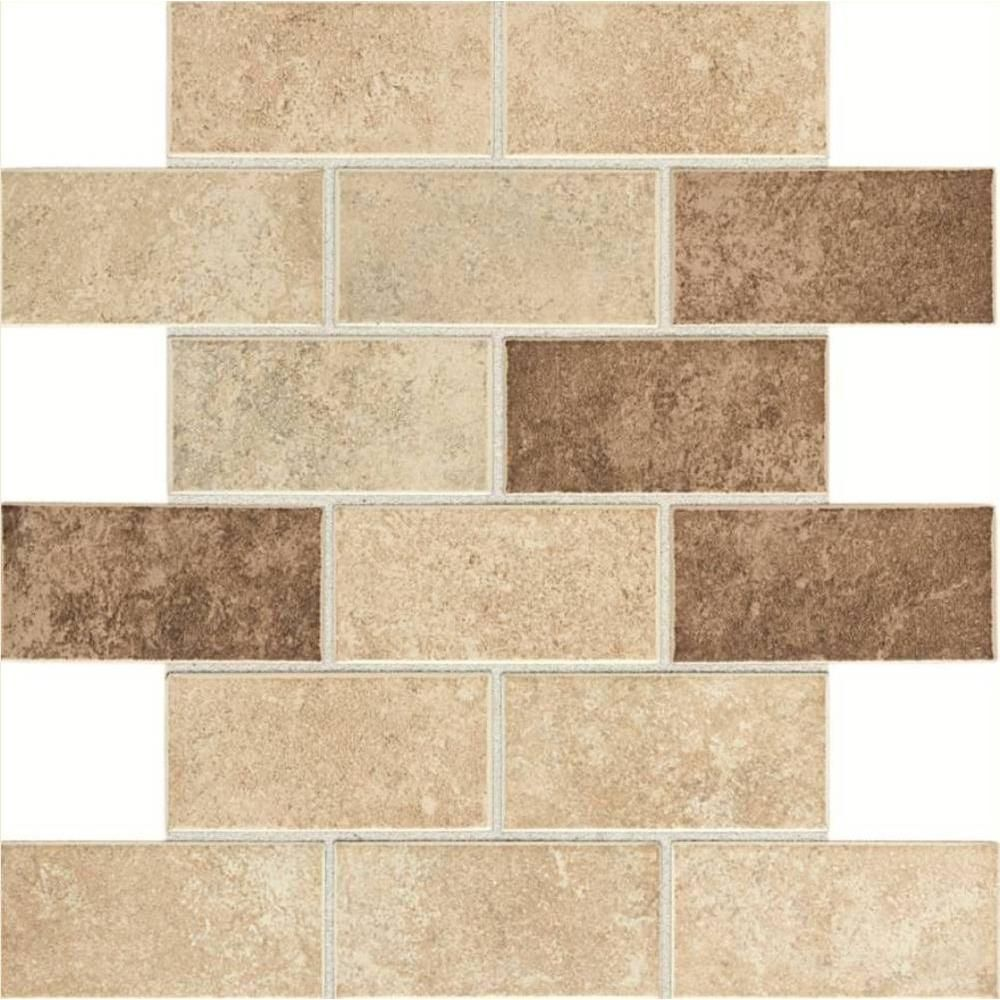 Daltile santa barbara pacific sand blend 12 in x 12 in x 6 mm daltile santa barbara pacific sand blend 12 in x 12 in x 6 mm glazed ceramic mosaic tile dailygadgetfo Image collections