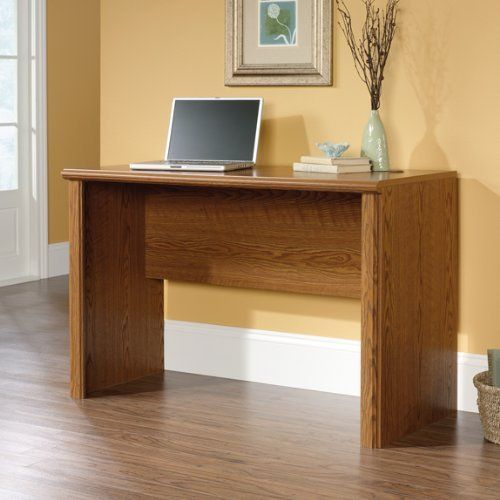 Orchard Hills Computer Desk By Sauder 89 98 401806 This Open No Drawers Has Traditional American Country Style That Provides Endless