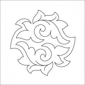 "Taro (6"") - Block #2 - Stencil"