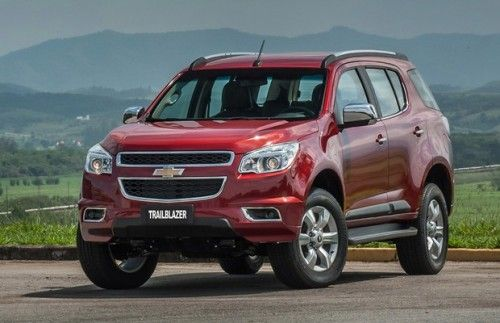 Chevrolet Trailblazer 2016 Chevrolet Trailblazer E Fotos