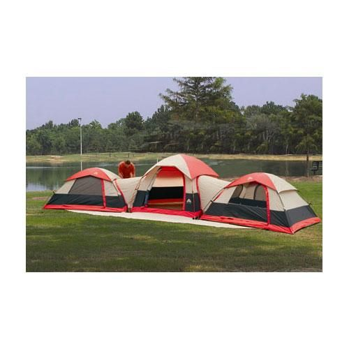 Ozark Trail 3 Dome Connection Tent Take A Look At These Amazing