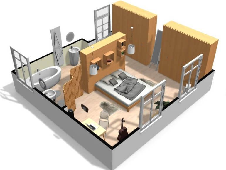 Free And Online 3d Home Design Planner Homebyme With Images