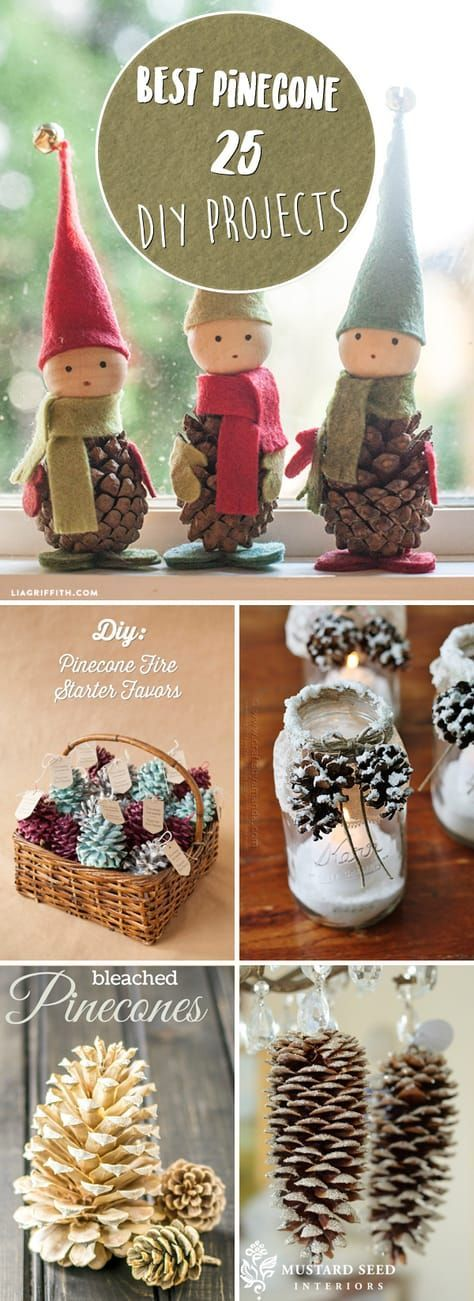 20 Pinecone DIY Projects Making Fall a Thing of Rustic Natural Beauty! #fallbeauty