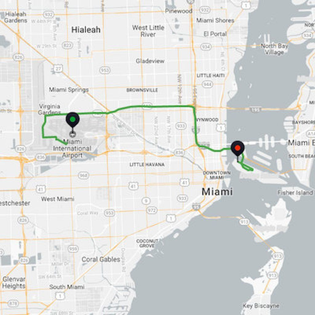 Uber Miami Airport >> Airport To Cruise Port Uber Cost This Is What You Ll Pay