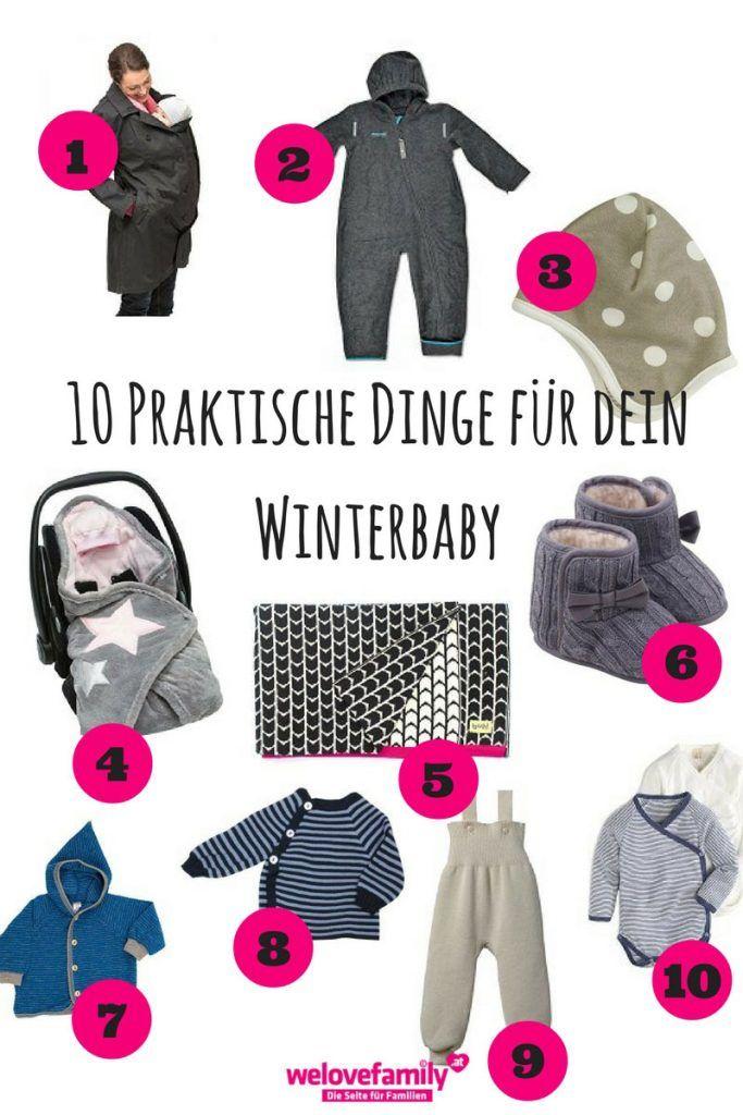 10 praktische Dinge für dein Winterbaby