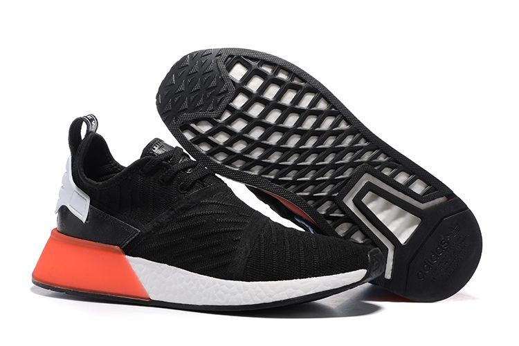 Original Adidas NMD XR1 Black Red White Shoes