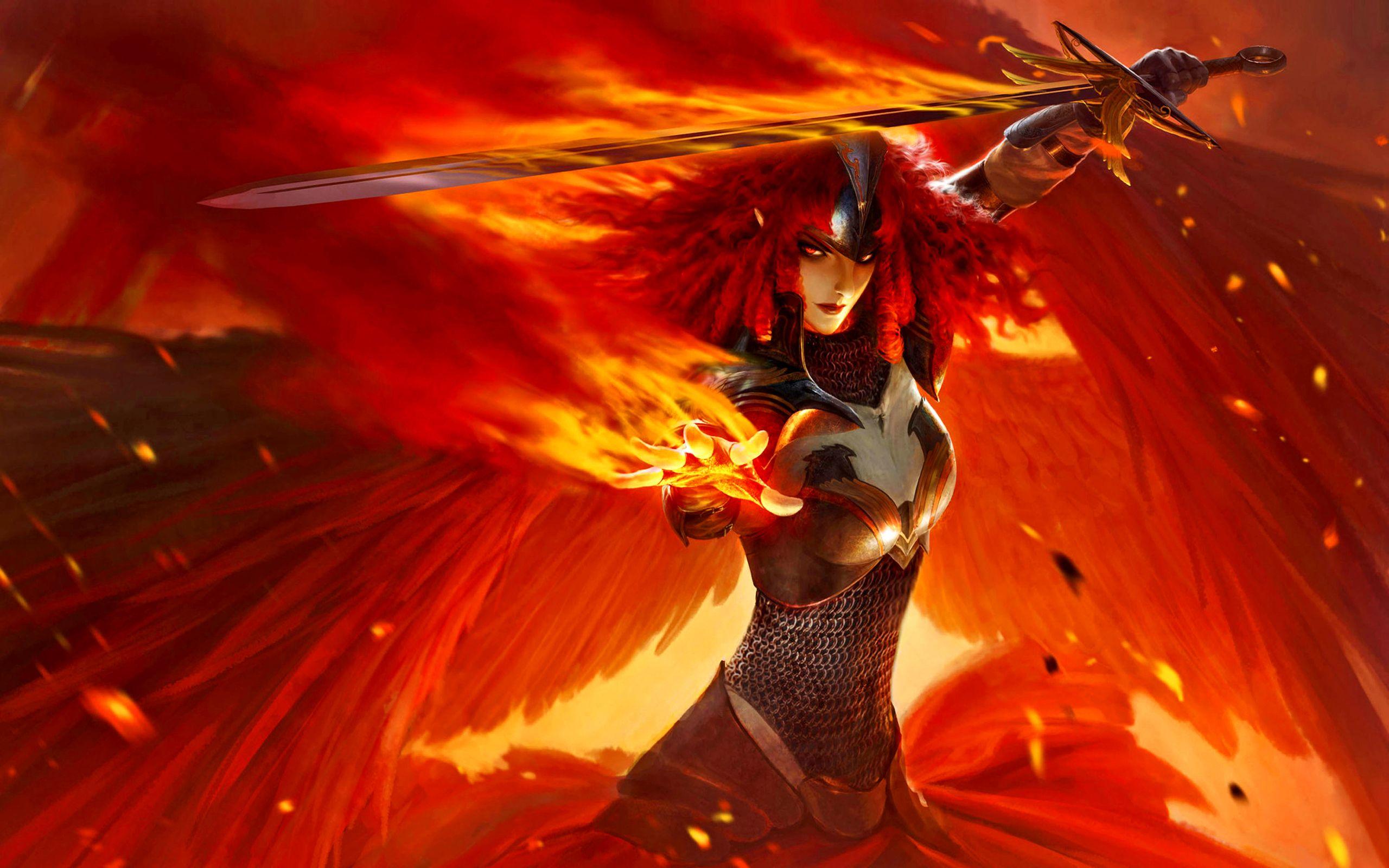 Pin By Taft Ashcraft On Fantasy Characters Angel Warrior Fantasy Art Women Warriors Wallpaper