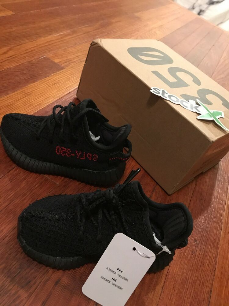 c8551f56564e4 adidas yeezy boost 350 v2 Black Red (infant)  adidas  Athletic Explore and