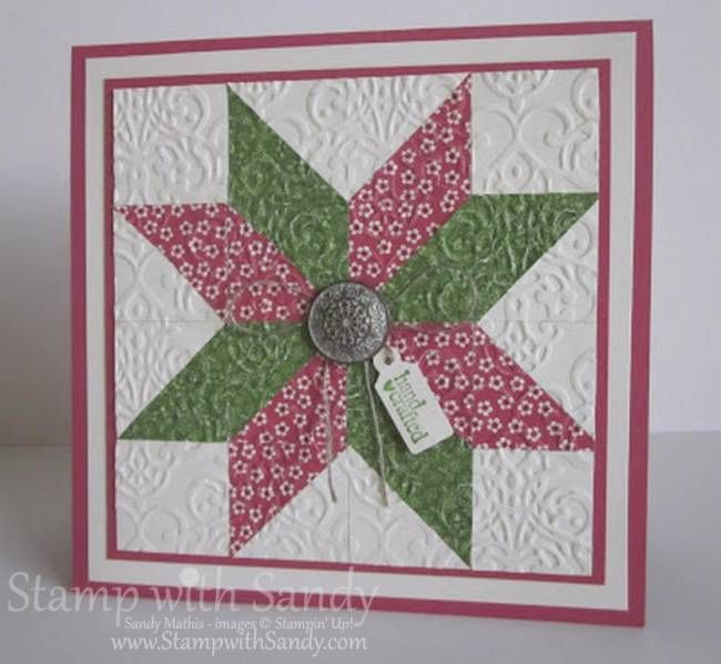A Paper Quilt For The Paper Players By Stampwithsandy Cards And