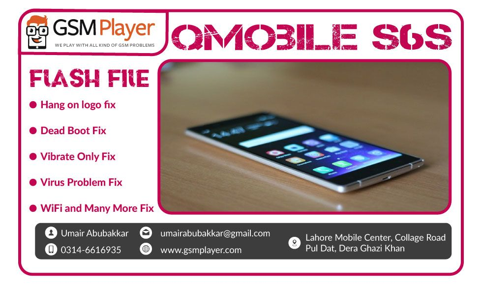 QMobile Noir S6s Firmware | GSM Player | Filing, Tools, The 100