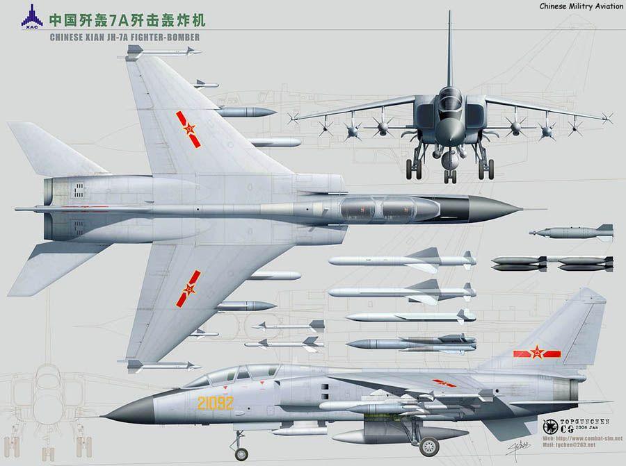 China! Xian JH-7A Specification - Xian JH-7 - Wikipedia, the