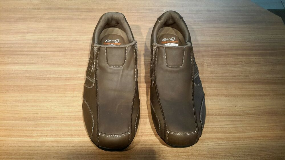 e814490d9 Joe Montana Footwear Men's size 13 Brown Leather Loafers Shoes memory foam  #fashion #clothing #shoes #accessories #mensshoes #casualshoes (ebay link)