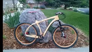 What a great story!! Wooden bike in the Leadville 100 race