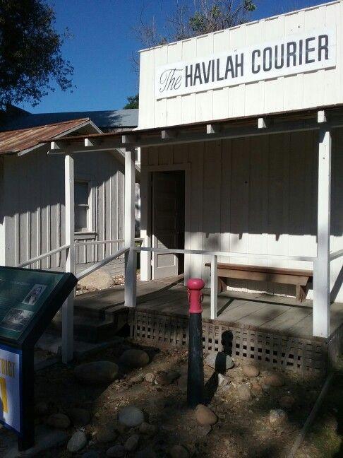 Havilah newpaper office